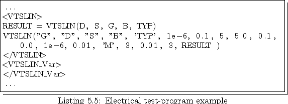 5 3 Electrical Test Interface